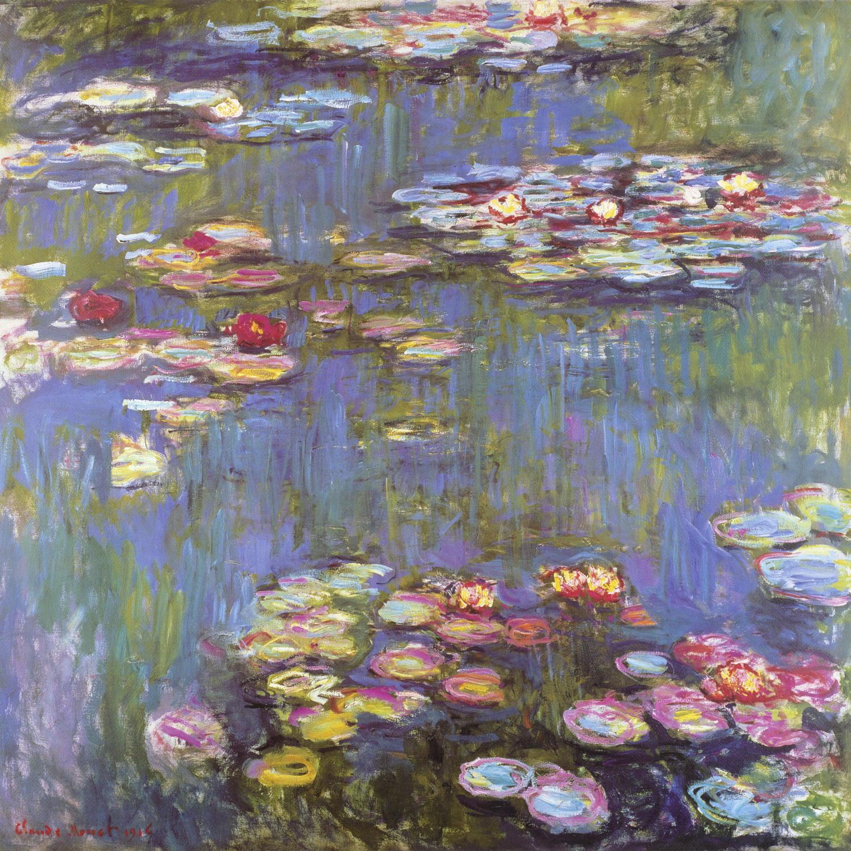 Seerosenbilder Monet