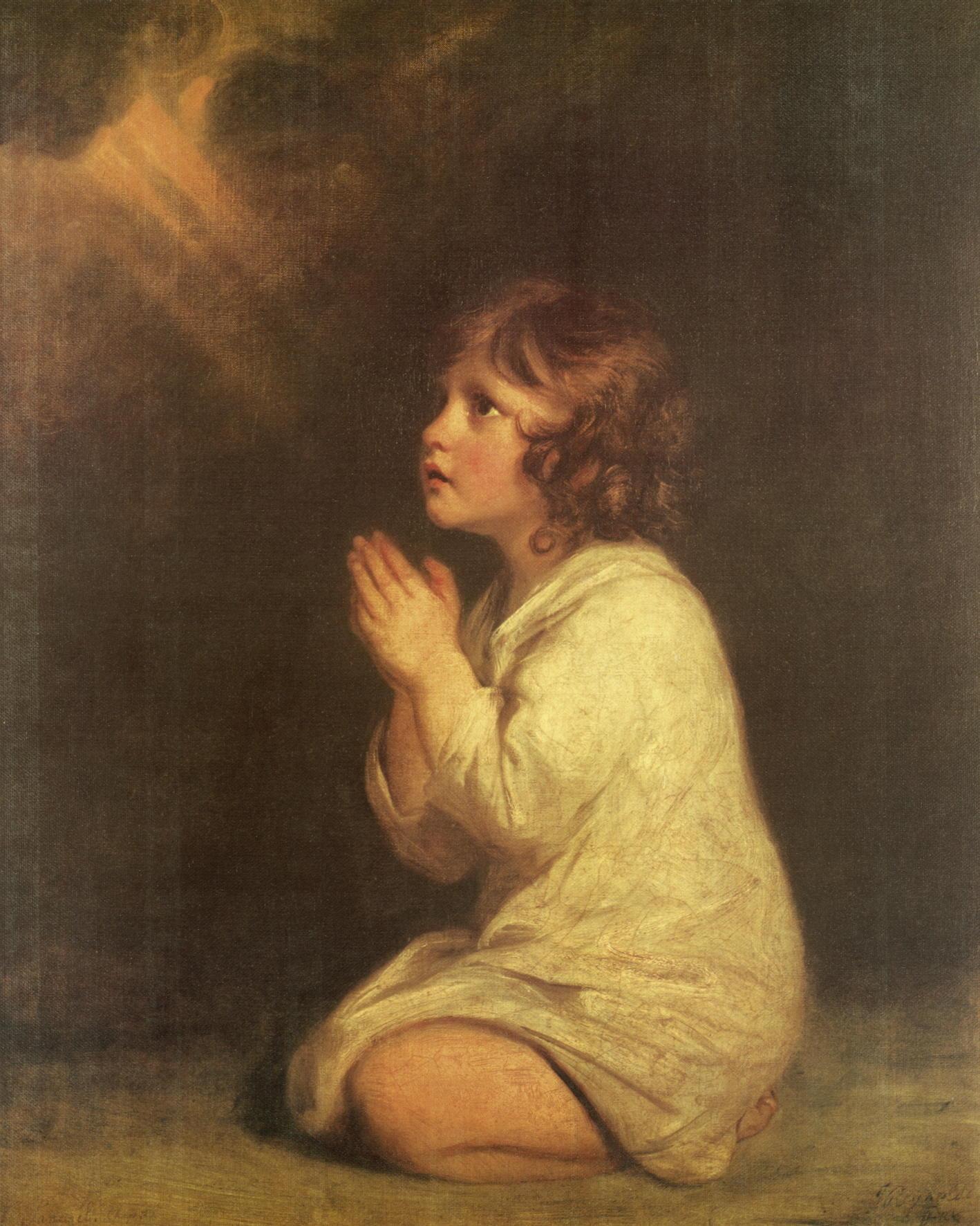 """Kunstdruck """"Der kleine Samuel"""" von Joshua Reynolds"""