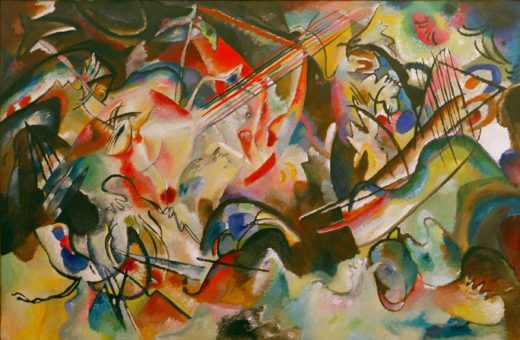 "Wassily Kandinsky ""Komposition"" 300 x 195 cm 1"