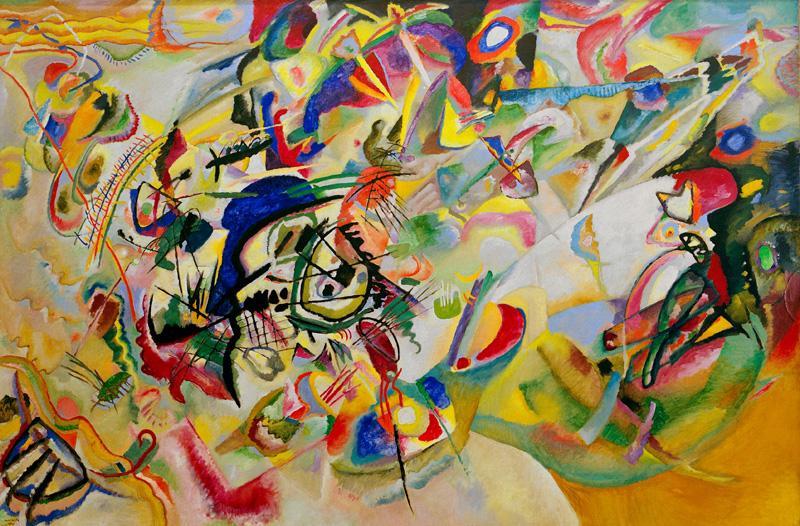 "Wassily Kandinsky ""Komposition"" 300 x 200 cm"