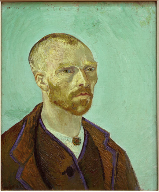 "Vincent van Gogh – ""Selbstbildnis 61 x 50 cm 1"