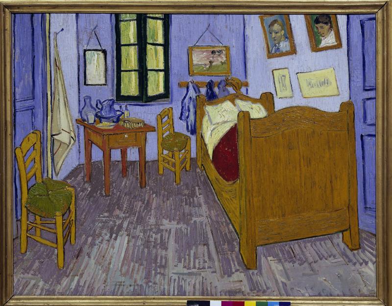 Kunstdruck Van Goghs Schlafzimmer in Arles von Vincent van Gogh