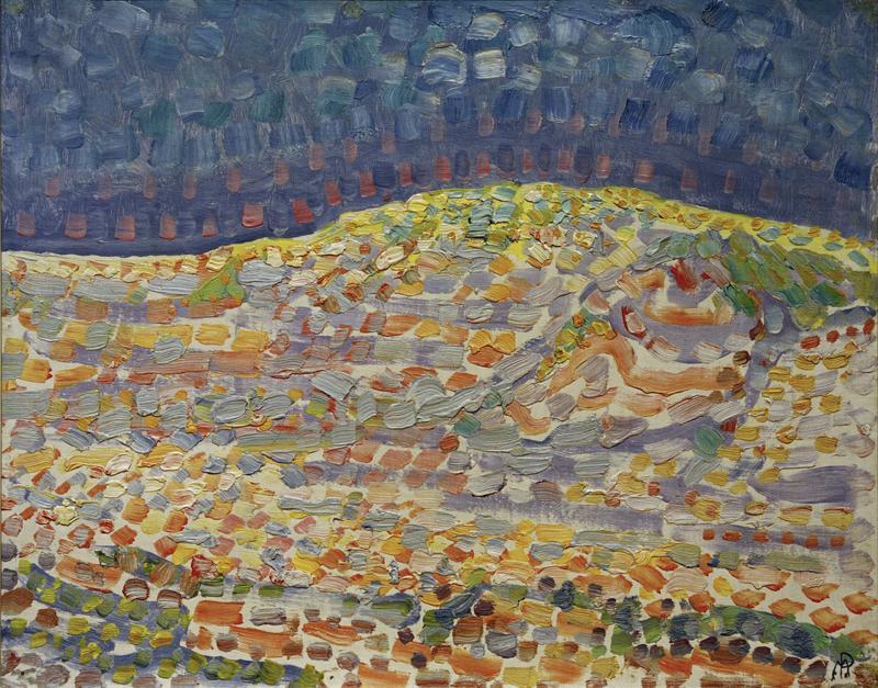 """Piet Mondrian """"Düne"""" 37 x 46 cm"""