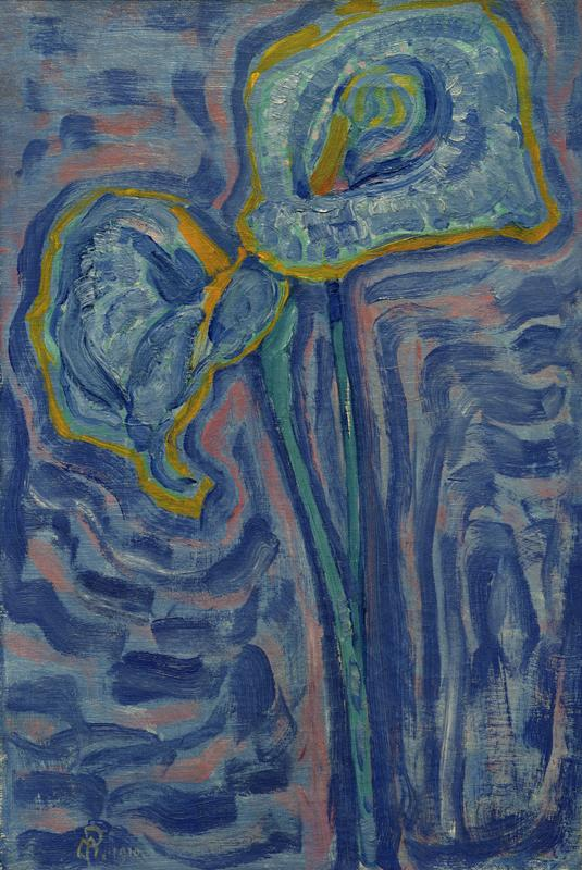 "Piet Mondrian ""Aäronskelken"" 50 x 33 cm"