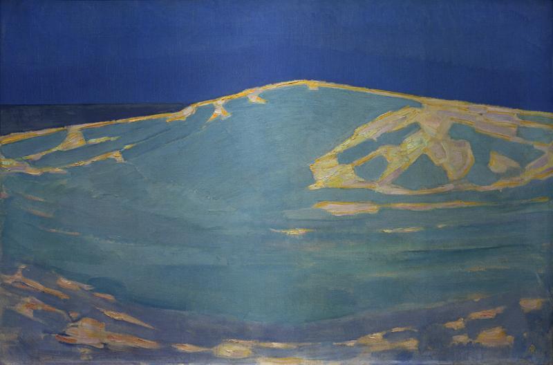 """Piet Mondrian """"Duinen bij Domburg"""" 65 x 96 cm"""