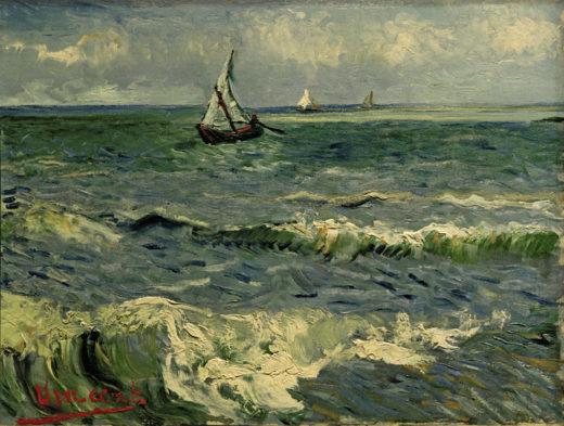 """Vincent van Gogh """"Boote auf See 51 x 64 cm 1"""