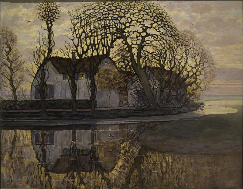 """Piet Mondrian """"Bauernhof bei Duivendrecht"""" 85 x 108 cm"""