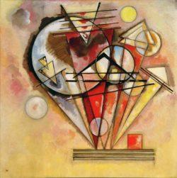 """Wassily Kandinsky """"Auf Spitzen"""" 140 x 140 cm"""