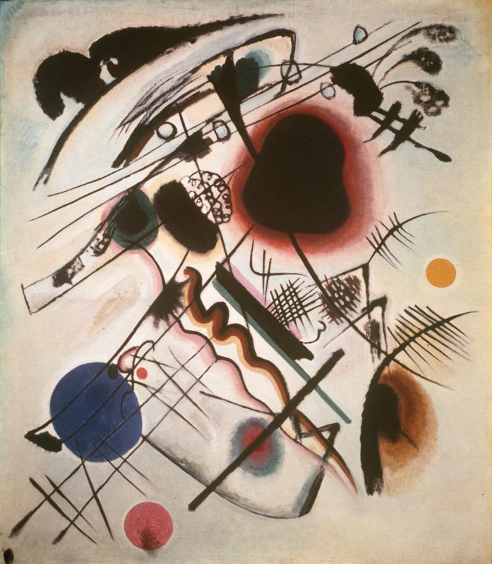 "Wassily Kandinsky ""Tache Noire"" 120 x 137 cm"