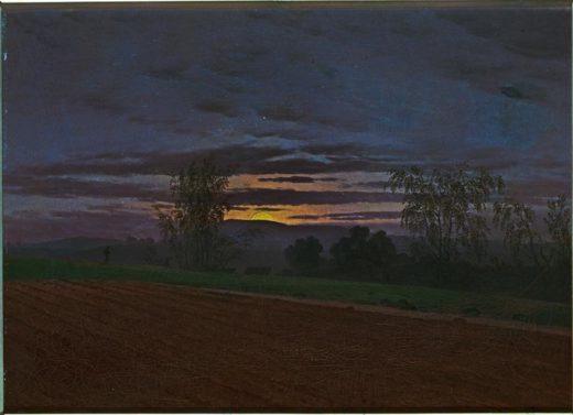 "Caspar David Friedrich ""Sturzacker""  47 x 34 cm 1"