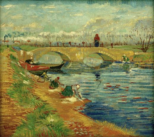 """Vincent van Gogh """"Pont de Gleize bei Arles"""" 46,8 x 51,3 cm 1"""
