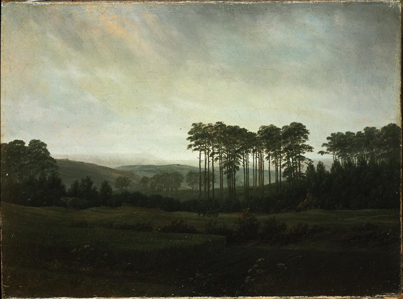 """Caspar David Friedrich """"Der Nachmittag""""  31 x 22 cm"""
