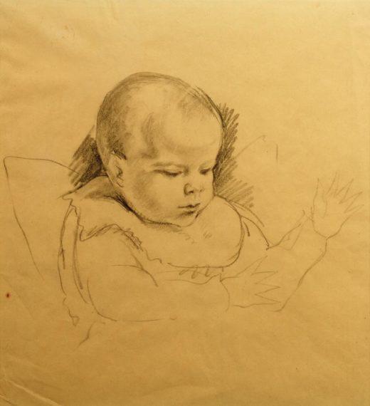 "August Macke ""Wolfgang"" 30 x 32 cm 1"