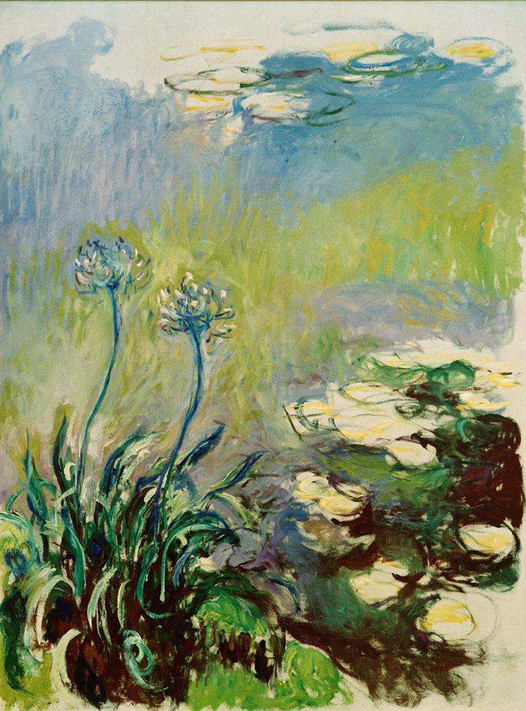 "Claude Monet ""Schmucklilien"" 150 x 200 cm"