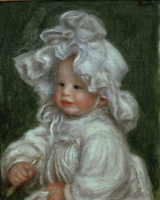 "Auguste Renoir ""Bildnis Claude Renoir"" 32 x 41 cm 1"