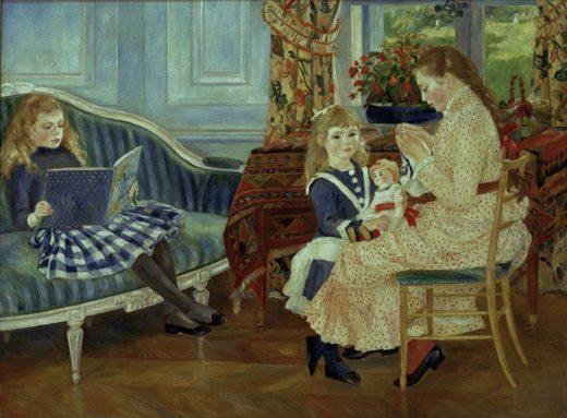 """Auguste Renoir """"Nachmittag der Kinder"""" 173 x 127 cm 1"""