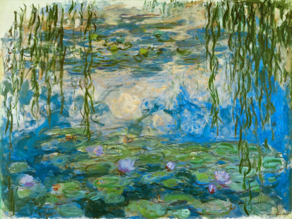 "Claude Monet ""Nympheas -Seerosen"" 200 x 150 cm"