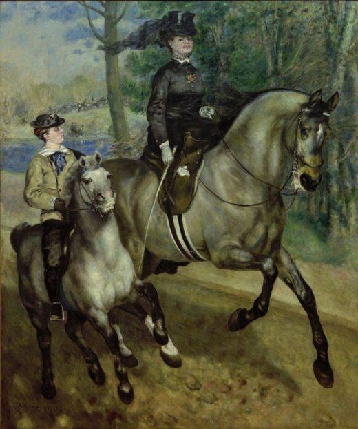"""Auguste Renoir """"Reiterin im Bois de Boulogne"""" 226 x 261 cm 1"""