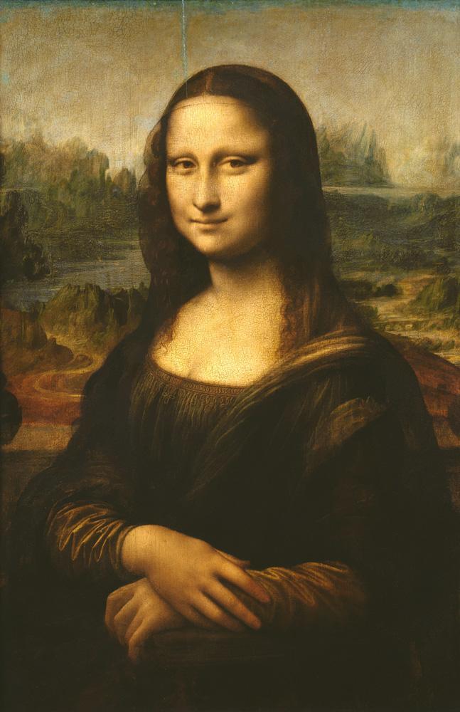 """Leonardo da Vinci """"Mona Lisa (La Gioconda)"""" 53 x 77 cm"""