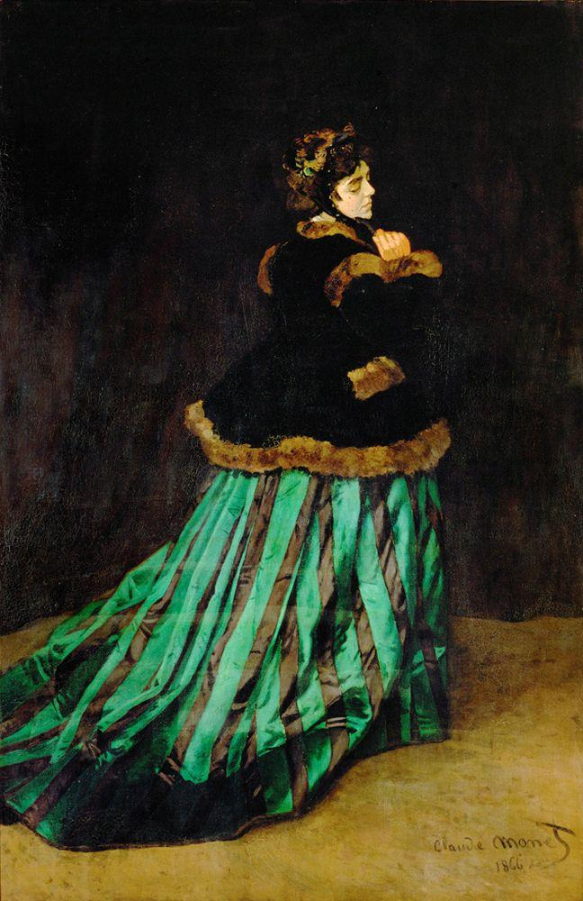 """Claude Monet """"Camille Monet"""" 151 x 231 cm"""