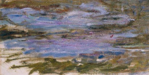 "Claude Monet ""Nympheas -Seerosen"" 52 x 27 cm 1"