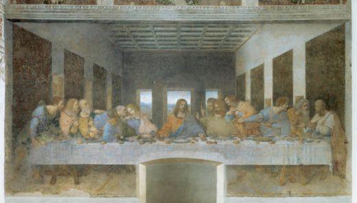 """Leonardo da Vinci """"Das Abendmahl"""" 880 x 460 cm 1"""