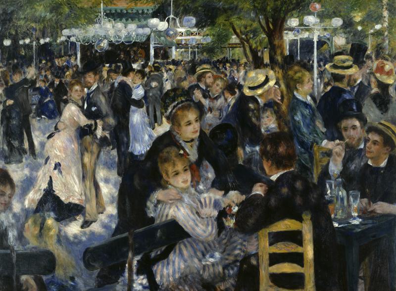 """Auguste Renoir """"Le Moulin de la Galette"""" 175 x 131 cm"""