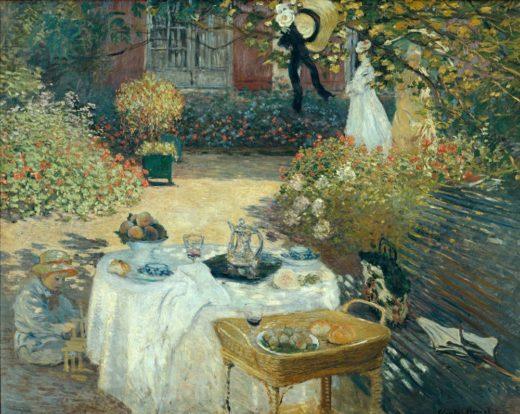 """Claude Monet """"Das Mittagessen"""" 203 x 162 cm 1"""