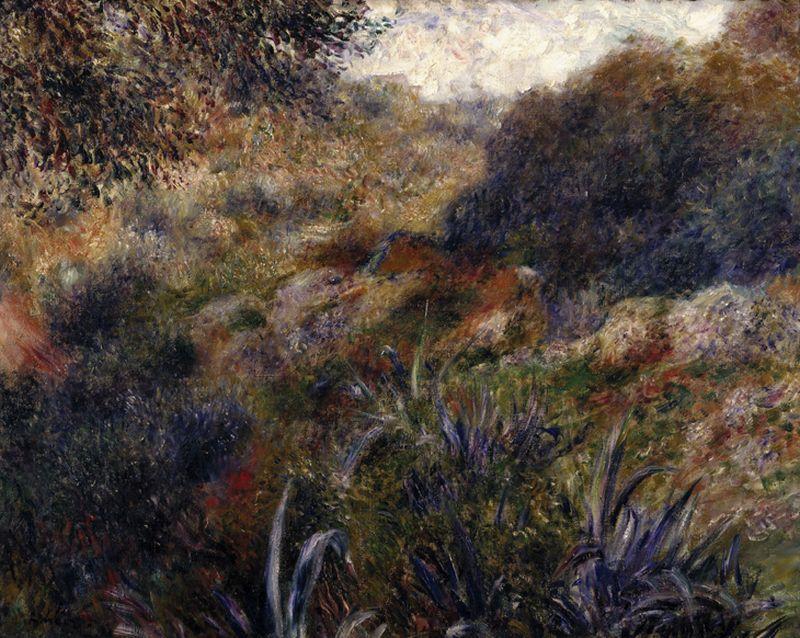"""Auguste Renoir """"Algerische Landschaft"""" 81 x 65 cm 1"""