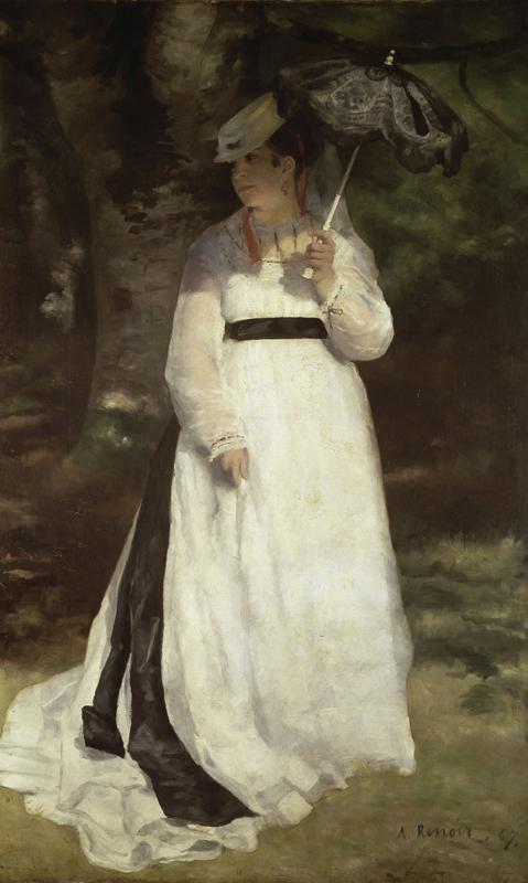 """Auguste Renoir """"Lise mit Sonnenschirm"""" 115 x 184 cm 1"""