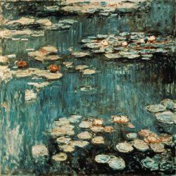 "Claude Monet ""Nympheas -Seerosen"" 200 x 200 cm"