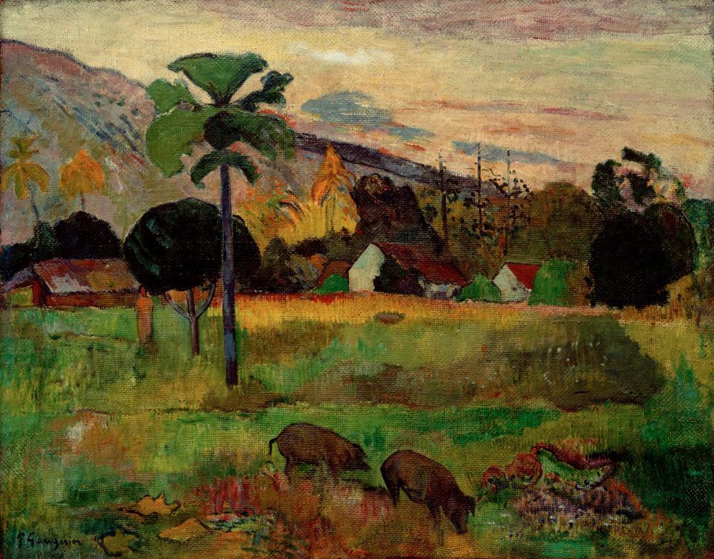 "Paul Gauguin ""Haere Mai""  91 x 72 cm"
