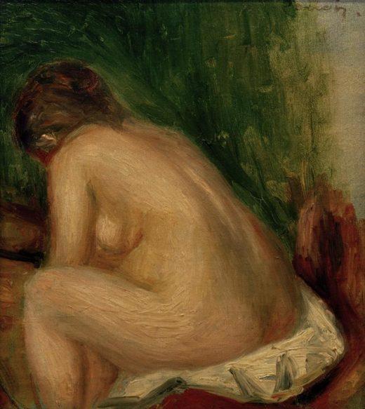 """Auguste Renoir """"Sitzender weiblicher Akt"""" 21 x 24 cm 1"""