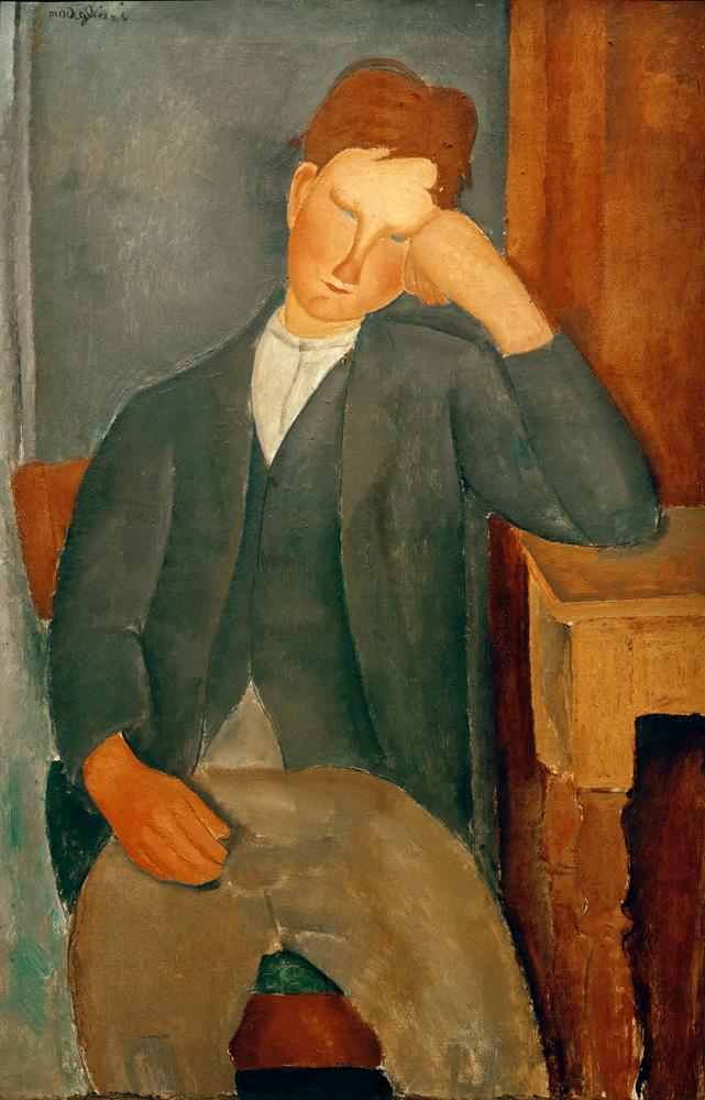 """Amedeo Modigliani """"Der Lehrling"""" 100 x 65""""cm"""