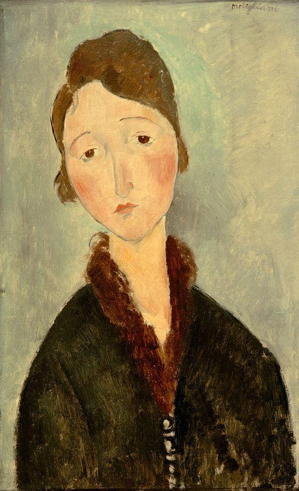 "Amedeo Modigliani ""Anna"" 38 x 61""cm"