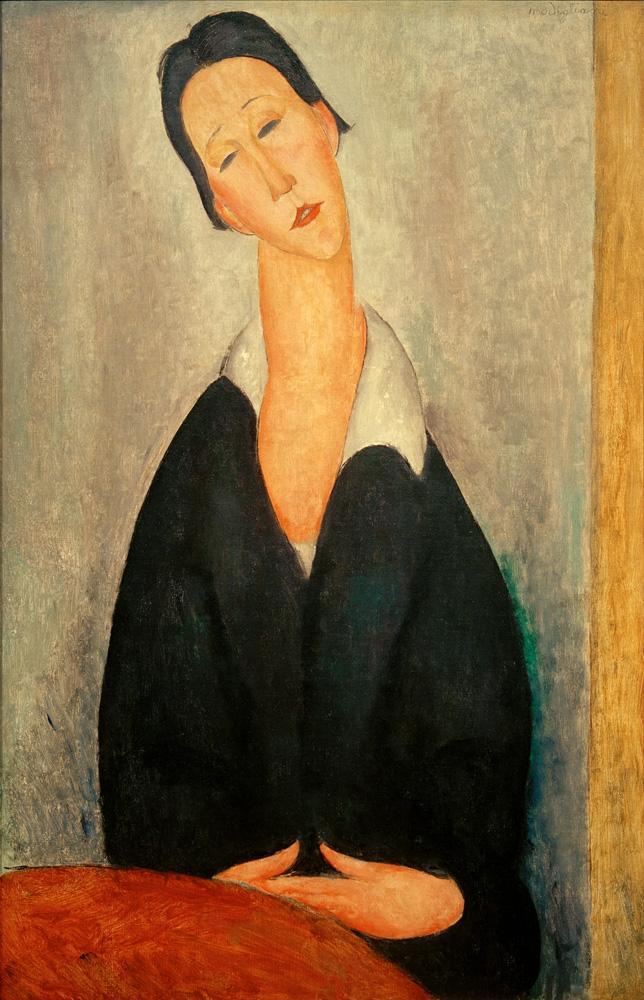 """Amedeo Modigliani """"Porträt einer Polin"""" 100 x 65""""cm"""