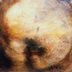 """William Turner """"Licht und Farbe"""" 79 x 79 cm"""