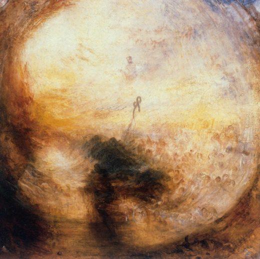 """William Turner """"Licht und Farbe"""" 79 x 79 cm 1"""