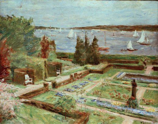 "Max Liebermann ""Wannseegarten der Familie Arnhold"" 88 x 70 cm 1"
