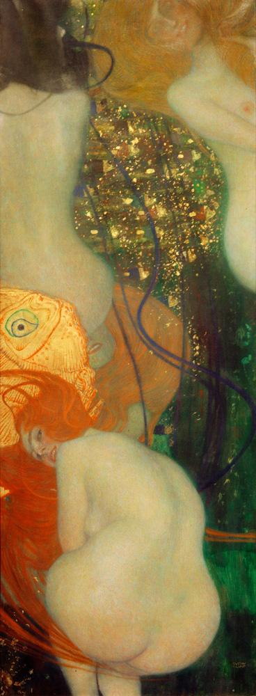 """Gustav Klimt """"Goldfische"""" 67 x 181 cm"""