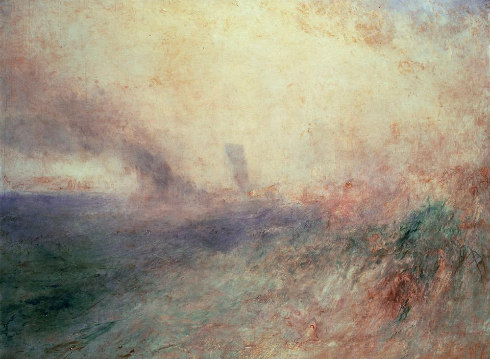 "William Turner ""Küste bei Folkestone"" 88 x 117.5 cm"