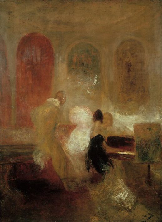 "William Turner ""Soiree in East Cowes Castle"" 121 x 91 cm 1"
