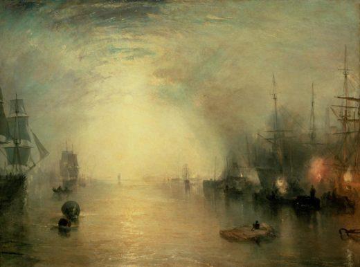 """William Turner """"Keelmen Heaving in Coals"""" 92 x 123 cm 1"""