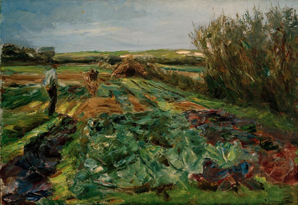 "Max Liebermann ""Das Kohlfeld"" 100 x 70 cm"