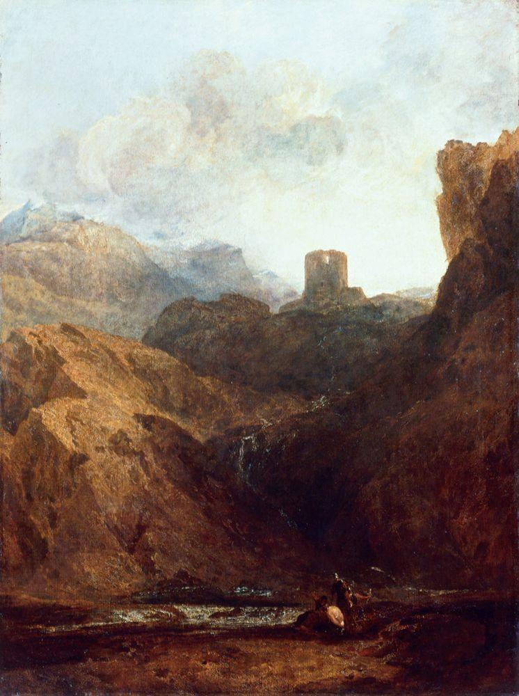 "William Turner ""Dolbadarn Castle"" 119 x 90 cm"