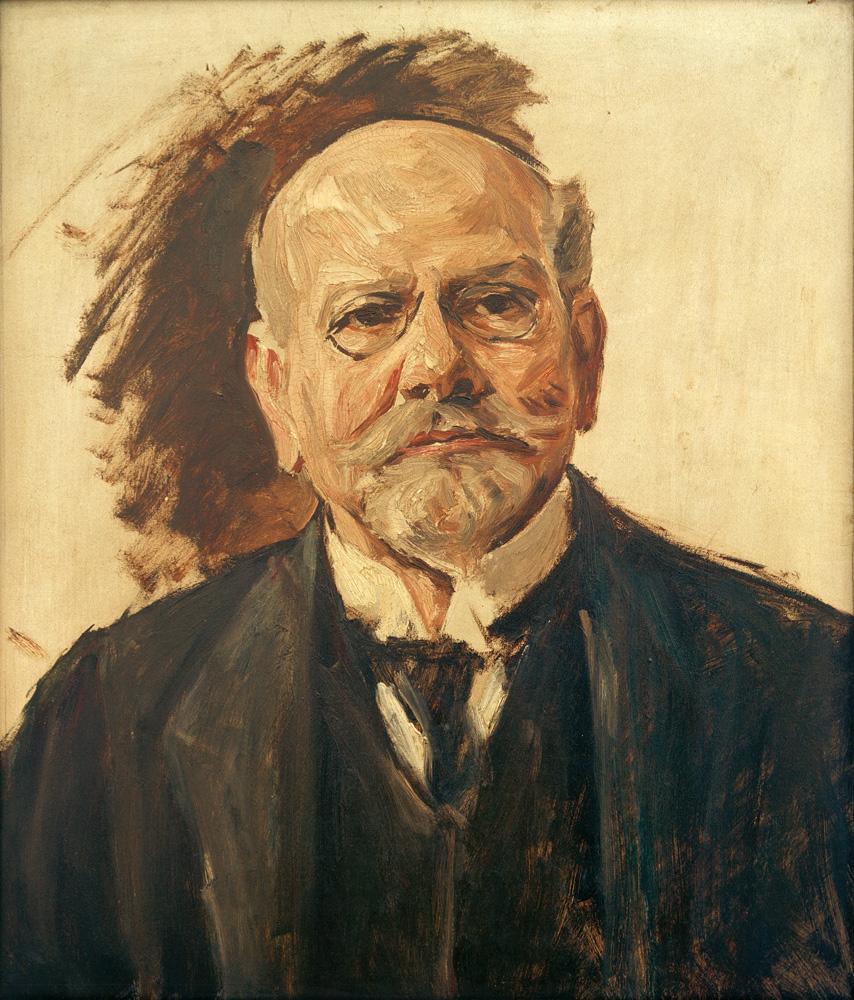 """Max Liebermann """"Porträt"""" 58 x 61 cm"""