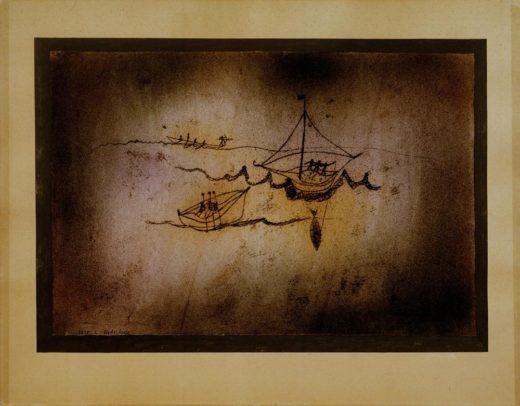 """Paul Klee """"Fischerboote"""" 49 x 34 cm 1"""