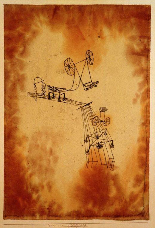 "Paul Klee ""Begegnung"" 31 x 44 cm 1"