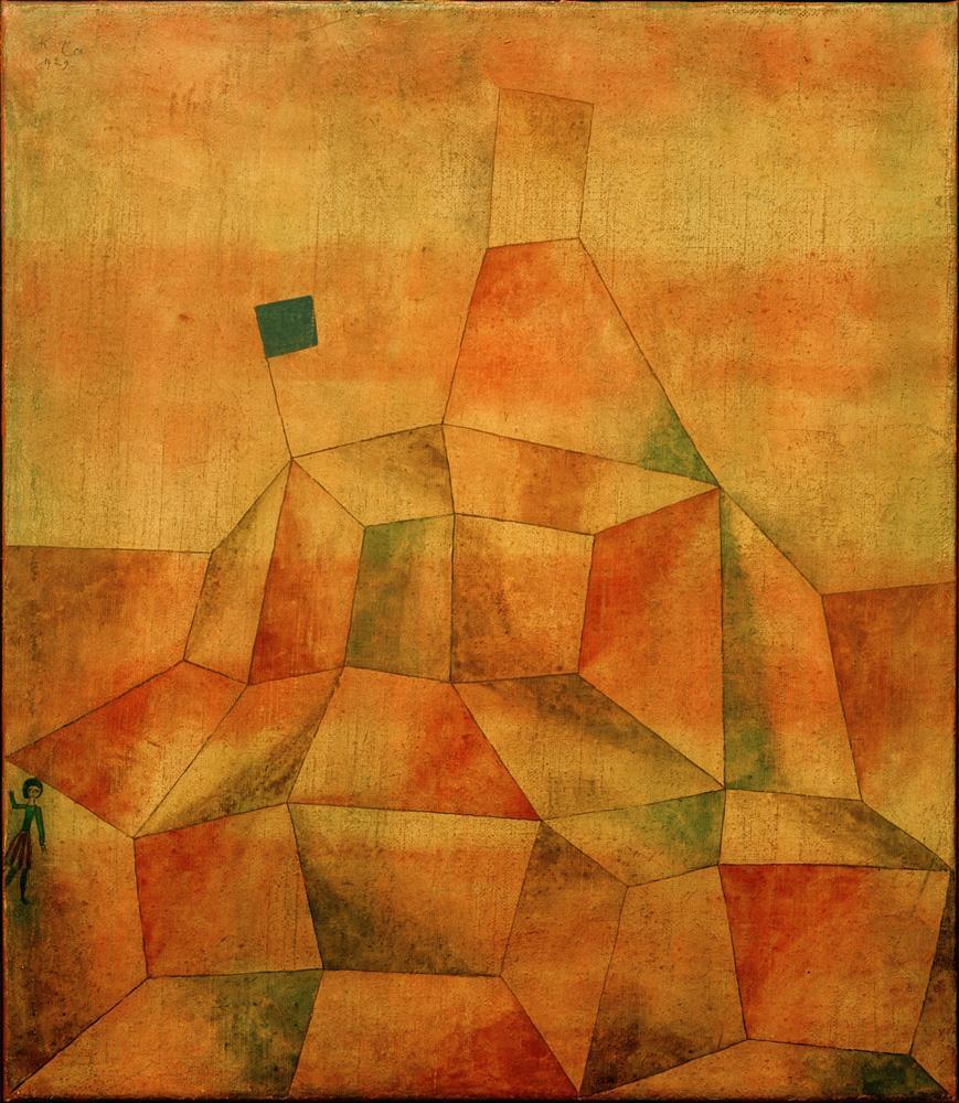 """Paul Klee """"Burghügel"""" 44 x 52 cm"""