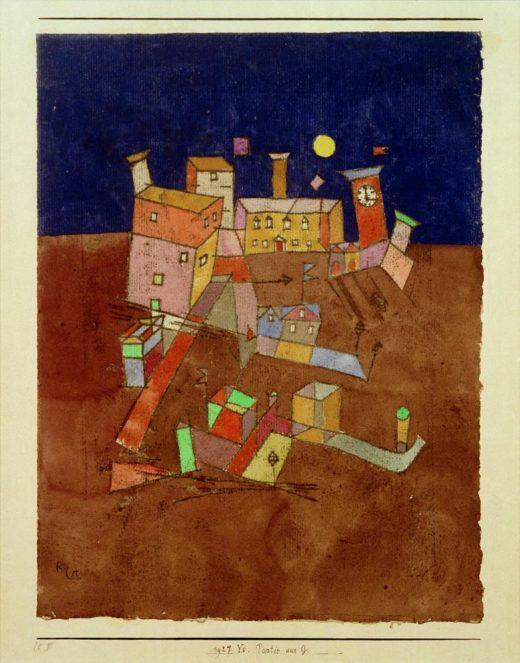 "Paul Klee ""Partie aus G"